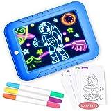 O-Kinee 3D Magic Schreibtafel, Zaubertafel Zeichnung Pad, Wiederverwendbare Tragbare Zeichenbrett für Kinder,Zeichnen, Lernen, Schreiben