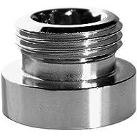 Riduzione adattatore metallico per il rubinetto di acqua del rubinetto 24 millimetri femminile a 1/2