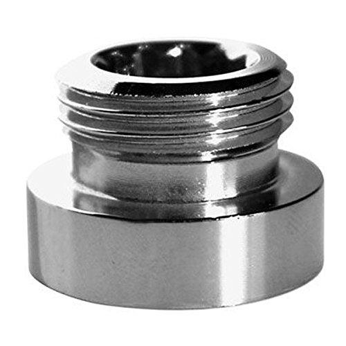 """Metalladapter Reduktion für Wasserhahnhahn 24mm Buchse auf 1/2 """"BSP männliche Schreiner"""