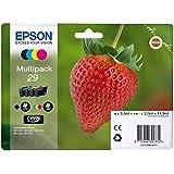 Encre d'origine EPSON Multipack Fraise T2986 : cartouches Noir, Cyan, Magenta et Jaune