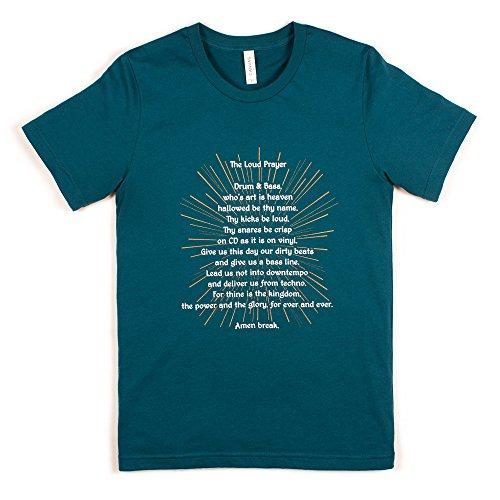 Strand Clothing Herren T-Shirt Blau Blau Gr. S, Blau - - Records-t-shirt Hospital