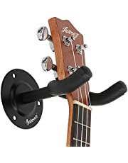 Juarez JRZ100 Guitar Wall Hanger/Mount With Fittings/Accessories, Black