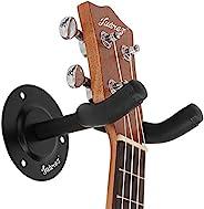 Juarez JRZ100 Guitar Wall Hanger/Mount With Fittings/Accessories, Black