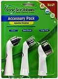 SonicScrubber 3 Brush Head Accessory Pack