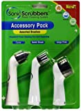 SonicScrubber 3 Brush Head Accessory Pack