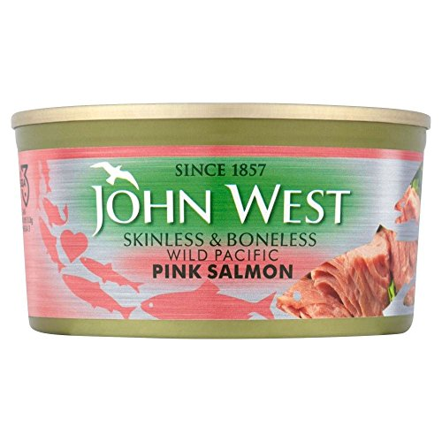 John West rose saumon sans peau et désossé (170g) - Paquet de 6