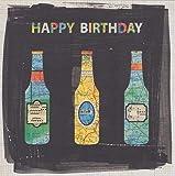 Bier Happy Birthday Karte–top-n