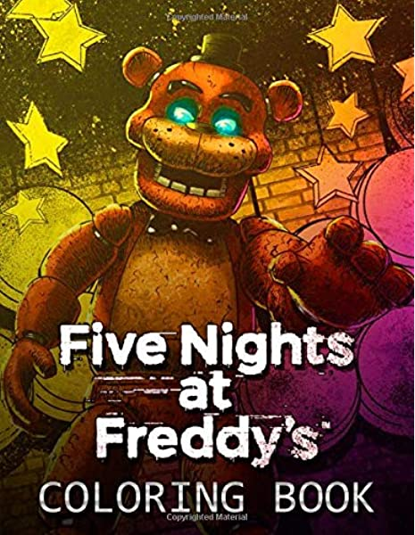 Various Five Nights At Freddy's Coloring Pages To Your Kids | Fnaf ... | 600x465