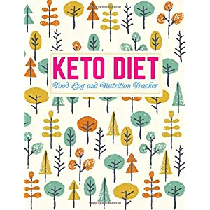 Keto Diet Food Log and Nutrition Tracker: Nifty Daily Ketogenic Meal Planner | Low Carb Fitness Tracker and Wellness… 2