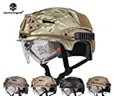 softair caccia casco tattico EMERSON EXF BUMP casco combattimento e occhiali (FG)