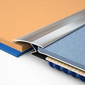 Z Bar Carpet To Laminate Or Carpet To Tile Colour Silver