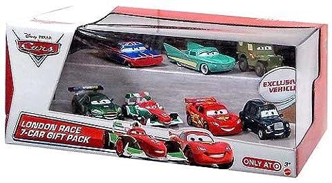 Disney Pixar Cars London Race 7 Car Gift Pack by Mattel