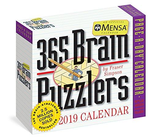 Mensa 365 Brain Puzzlers 2019 Calendar