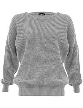 Ovillo de mujer con pantalones de jersey de con diseño de estampado de jersey Divaa