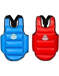 Bushido Protection Corps de MMA et arts martiaux, corset protecteur Double face pour enfants