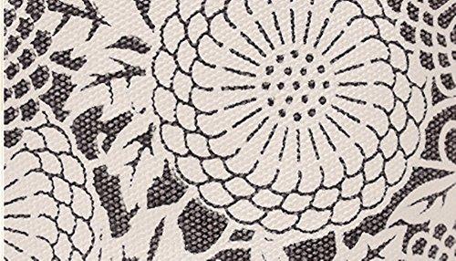 Swallow Borse di vento nazionali di grande portata di svago di ventilatore di arte, sacchetto di spalla portatile di acquisto di tela di canapa Marrone