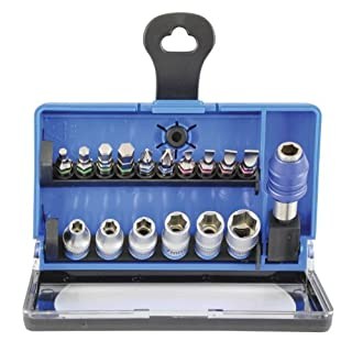 Goodyear Screwdriver Bit and Socket Set (17 Pieces)