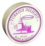 Turkish Delight Rose & Lemon 454g Wooden Box