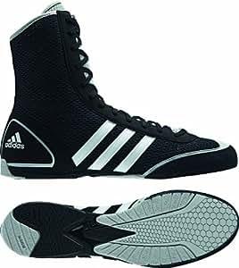Adidas Box Rival II, Unisex Adults Boxing Shoes, Black (Black/Grey), 3.5 UK (36 EU)