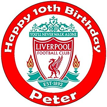 Choose Your Football Team Personalised Easy Peel Cake Topper Round (Badge  only) 1a1395dd7