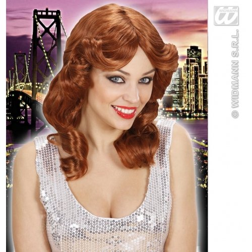 Perücke Rockstar Tina Turner in grau Karneval Fasching Damenperücke (Tina Turner Perücke Halloween)