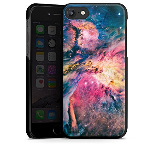 Apple iPhone X Silikon Hülle Case Schutzhülle Galaxy Universum Galaxie Hard Case schwarz
