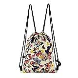 Fashion Outdoor Sports Casual Satchel Rucksack Bundle Pocket Drawstring Bag