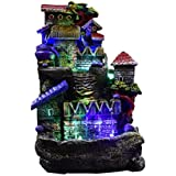 NVR Microfiber Water Fountain Showpiece (Multicolor)