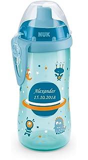 NUK Trinkhalmhalter f/ür Flexi Cup auslauf- und bruchsicher BPA-frei Farbe gr/ün