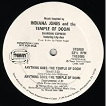 Anything Goes / The Temple Of Doom (Music Inspired By Indiana Jones And The Temple Of Doom) [Vinyl Single 12'']