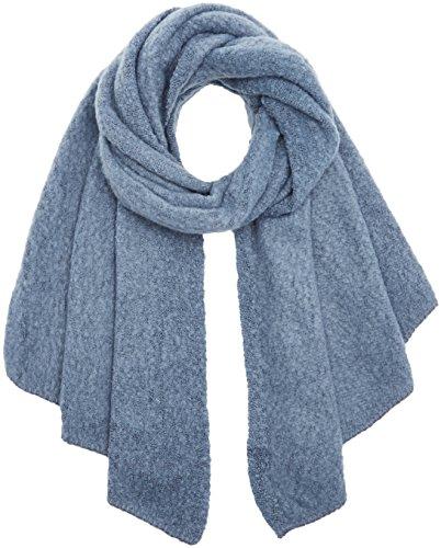 PIECES Damen Schal Pcpyron Long Scarf Noos, Blau (Flint Stone), One Size