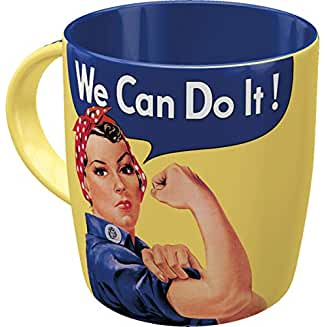 Taza Nostalgic-art WE CAN DO IT!