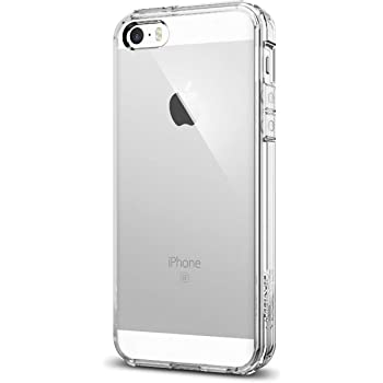 best website ee200 90c9d iPhone SE Case, Spigen® [Ultra Hybrid] AIR CUSHION [Crystal Clear] Clear  back panel + TPU bumper for iPhone SE / 5S / 5 - Crystal Clear ...