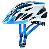 Uvex 4109660117Helm Radfahren MTB, Unisex Erwachsene, weiß/blau, M