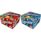 Schmidt Spiele 01301 - Ligretto rot, Kartenspiel &  Spiele 01101 - Ligretto blau, Kartenspiel