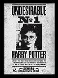 Harry Potter FP10616P-PL 'Undesirable No 1'  Image encadrée, Multicolore, 30 x 40 cm