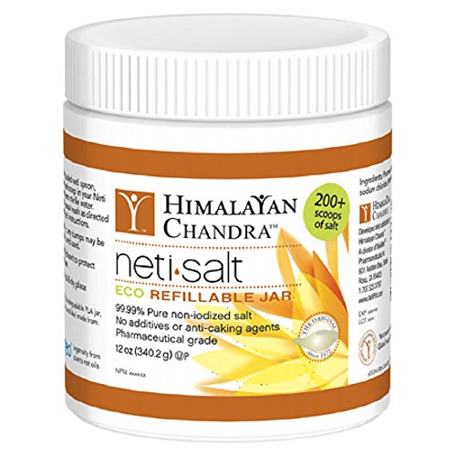 Himalayan Institute Neti Pot Salt, 12 Oz -