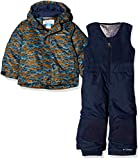 Columbia Buga Set, Tuta da Sci Unisex-Bimbi 0-24, Multicolore (Canyon Gold Trees), 3T