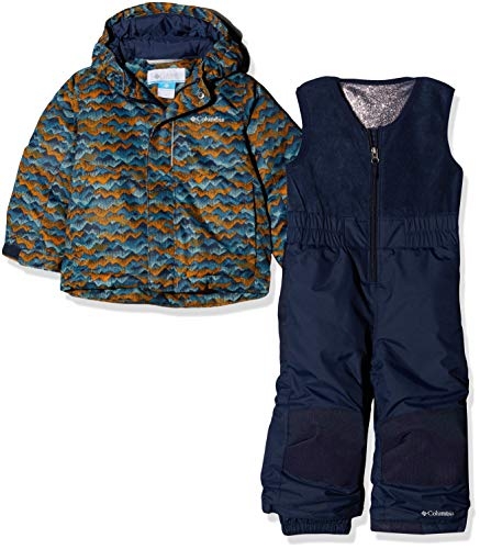 Columbia Toddlers' Snow Set, Buga, Canyon Gold Trees, S