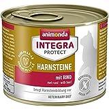 Animonda Integra Protect Harnsteine Katzenfutter mit Rind, 6er Pack (6 x 200 g)