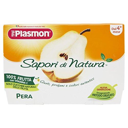 Plasmon Omogeneizzato di Frutta Pera Sdn - 24 Vasetti da 100 gr