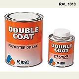 De IJssel Double Coat 2K Bootslack - Farbe perlweiß