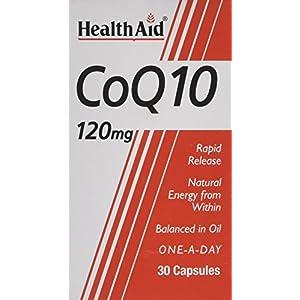 51AdsL55mEL. SS300  - HealthAid CoQ-10 120mg - 30 Capsules