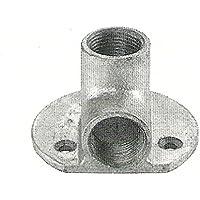 malleabile zincato filetto angolo di montaggio a
