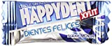 Happydent - Chicle sin azúcar - Sabor menta - 200 chicles