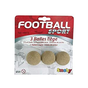 Simba - 35mm Pack of 3 Footballs
