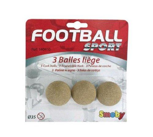 Smoby  - 140410 - Jeu de Plein Air - 3 Balles Liege - 35 mm 3032161404103