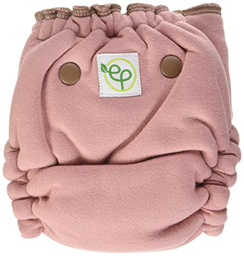 EcoPosh Recycled Organic Fitted Pocket Diaper, Love One Size