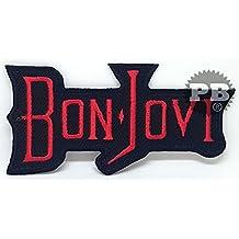 Parche bordado para coser o planchar de Bon Jovi #84