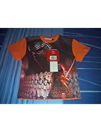 Camiseta Star Wars, naranja
